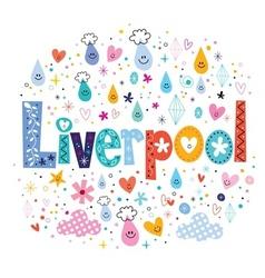 Liverpool vector image