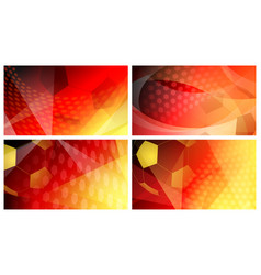 soccer backgrounds in colors of germany vector image