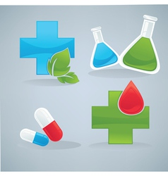 health and drug vector image