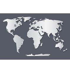 Origami world map royalty free vector image vectorstock paper world map vector image gumiabroncs Choice Image