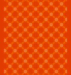 Abstract circles pattern orange background vector