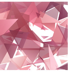 abstract low poly design background vector image