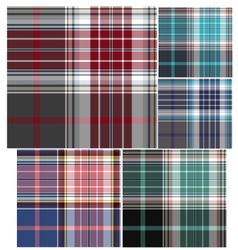 Check fabric pattern vector
