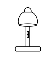 Desk lamp icon image vector