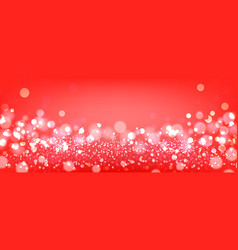 Red bokeh background red festive background with vector