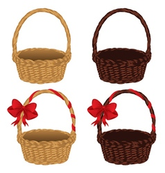 Set of Baskets2 vector