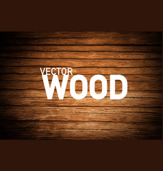 wood background brown wooden backdrop vector image