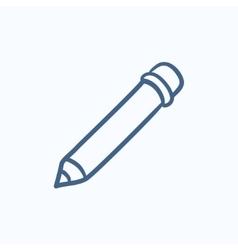 Edit sketch icon vector image