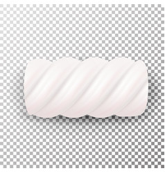 realistic marshmallows candy sweet twist vector image vector image