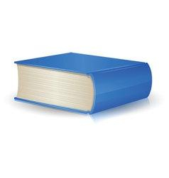 Single Book vector image