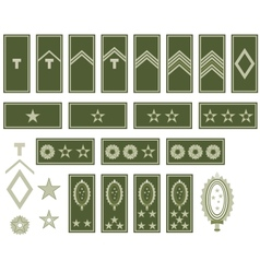 Insignia of the Army of Brazil vector image
