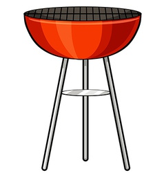 Barbecue stove vector image