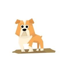 Bulldog Dog Breed vector image vector image
