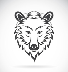 images of bear head vector image vector image