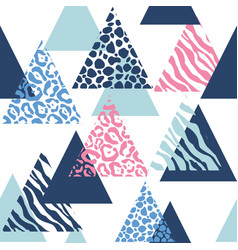 animal abstract pattern vector image