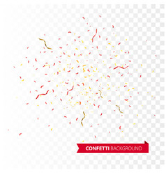 Confetti burst explosion background vector