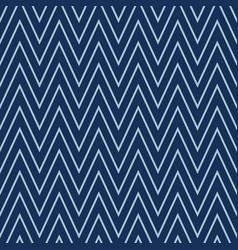 Indigo denim blue chevron stripe texture vector