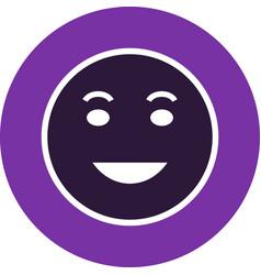 Lol emoji icon vector