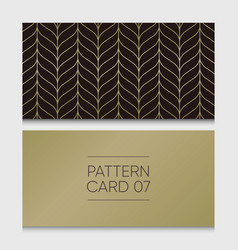 pattern-card-07 vector image