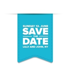 save day template vector image