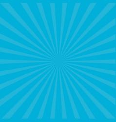 Sunburst starburst with ray light blue color vector