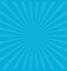 Sunburst starburst with ray of light blue color vector