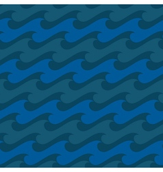 Water seamless pattern 1 vector image