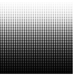diminishing halftone dots vector image vector image