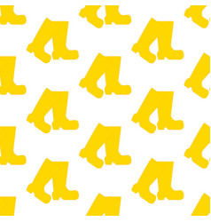 rubber boots pattern vector image