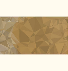 burly wood brown triangular low poly mosaic vector image