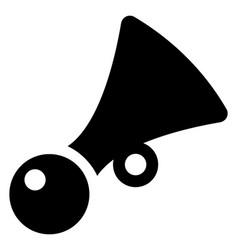 Car horn vector