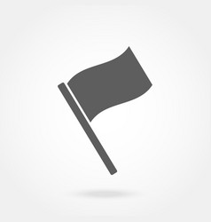 flag icon flat design vector image