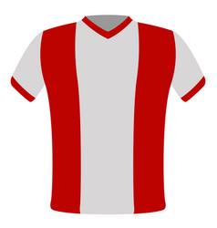 Flag t-shirt of peru vector