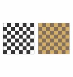 isolated chessboards vector image