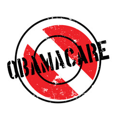 Obamacare rubber stamp vector