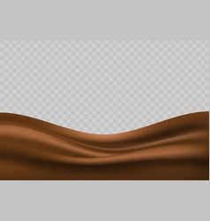 wavy milk background vector image