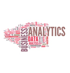 Wordcloud Business vector image