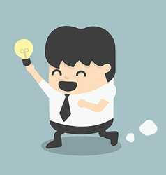 young business Run Show idea vector image