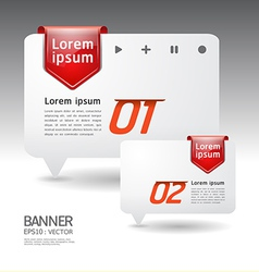 Modern arrow Design template vector image vector image