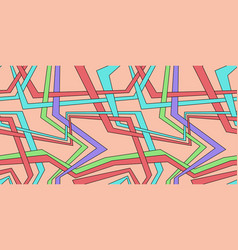 abstract colored background with parallel lines vector image