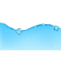 Background of opaque water vector image