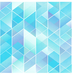 blue mosaic pattern vector image