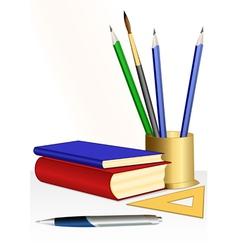 educational set vector image