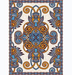 Floral Ornamental Seamless Carpe vector