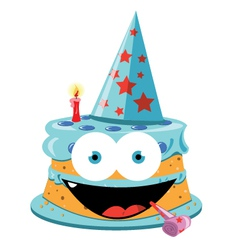 Funny Cake - male vector image