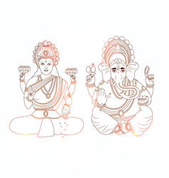 Hindu festival bhai dooj background vector