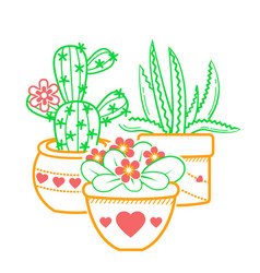 houseplant icon vector image