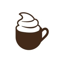 mug cup icon image vector image