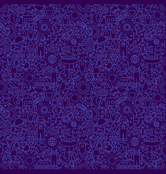 space dark line seamless pattern vector image