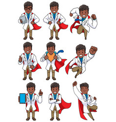 super doc indian vector image